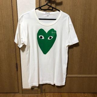 コムデギャルソン(COMME des GARCONS)のComme des garcons PLAY Tシャツ Mサイズ(Tシャツ/カットソー(半袖/袖なし))
