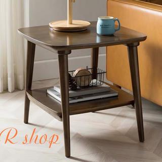 飾り台 天然木ローテーブル リビングテーブル センターテーブル高級寝室用テーブル(ローテーブル)