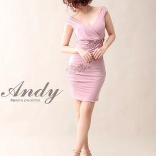 Andy - お値下げ アンディ ワンピ ドレス キャバ ピンク