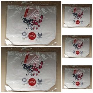 コカコーラ(コカ・コーラ)のコカ・コーラ オリジナル オリンピックデザイン トートバッグ(ノベルティグッズ)