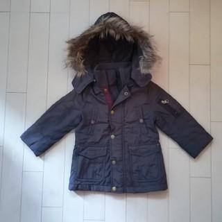 フェリッシモ 子供 キッズ コート 90 ダウンコート ブラウン 茶色 男の子 (ジャケット/上着)