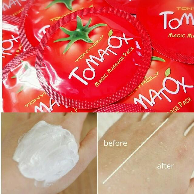 マスク 433640 - TONY MOLY - 10枚♥美白酵素パック♥シミくすみ改善の通販