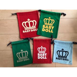 ベビードール(BABYDOLL)の巾着セット(その他)