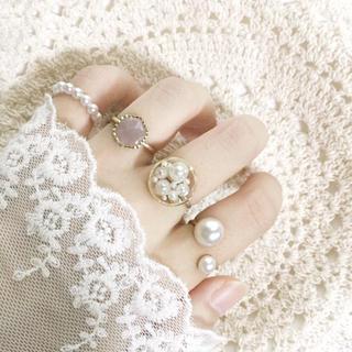 指輪セット【100-Ba】ワイヤーリング(リング)