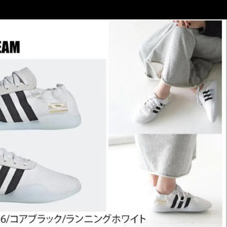 アディダス(adidas)の新品★アディダス テコンドー スリッポン 23.5★(スリッポン/モカシン)