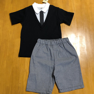 【新品】フォーマル スーツ  セットアップ 100cm (その他)