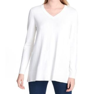 ダナキャランニューヨーク(DKNY)のDKNY Jeans ニット セーター アイボリー M 新品(ニット/セーター)