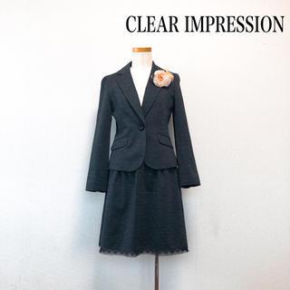 クリアインプレッション(CLEAR IMPRESSION)のクリアインプレッション スーツ セットアップ グレー セレモニー 美スタイル♡(スーツ)