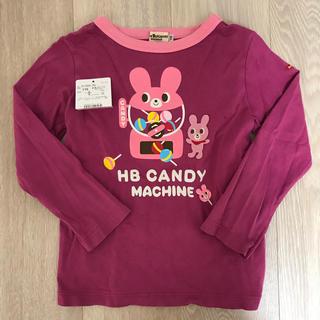 ミキハウス(mikihouse)のミキハウス 110 キャビットちゃんキャンディー ロンT 女の子 長袖Tシャツ(Tシャツ/カットソー)