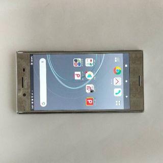 エヌティティドコモ(NTTdocomo)の美品 SIMフリー Xperia XZ Premium SO-04J(携帯電話本体)
