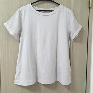 ルクールブラン(le.coeur blanc)のルクールブラン Tシャツ カットソー ライトグレー(Tシャツ(半袖/袖なし))