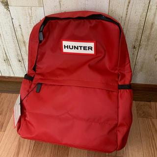 ハンター(HUNTER)の☆HUNTER リュック 赤☆(リュック/バックパック)