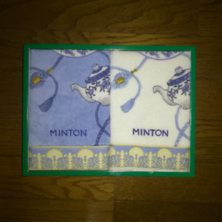 ミントン(MINTON)のミントン ハンドタオル 2枚セット(タオル/バス用品)