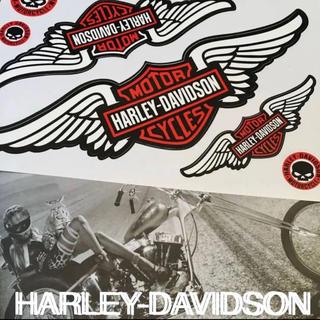 ハーレーダビッドソン(Harley Davidson)のHARLEY-DAVIDSONハーレーダビットソン US限定 ステッカーセット(その他)