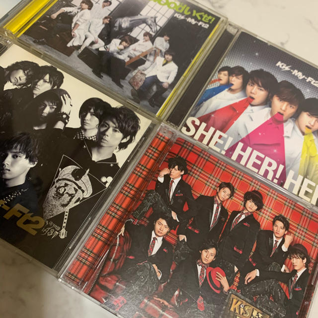 Kis-My-Ft2(キスマイフットツー)のキスマイのCD エンタメ/ホビーのタレントグッズ(アイドルグッズ)の商品写真