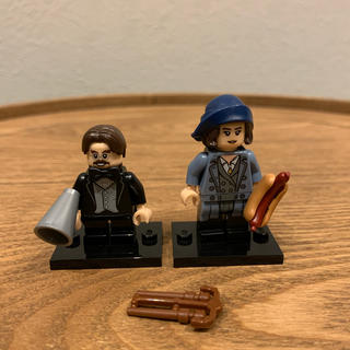 レゴ(Lego)のLEGO レゴ ミニフィグ ハリーポッター 2体 71022(積み木/ブロック)