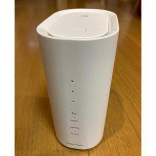 エヌイーシー(NEC)の【UQ WiMAX HOME01】配線工事不要の置き型ルーター(PC周辺機器)