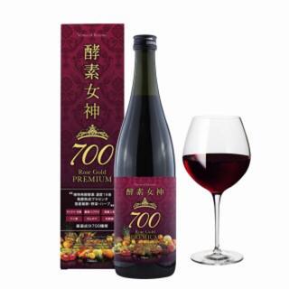 酵素女神700 ロゼゴールド・プレミアム 720ml(ダイエット食品)
