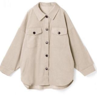グレイル(GRL)のビックコーデュロイシャツ(Tシャツ(長袖/七分))