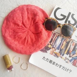 ジェイダ(GYDA)のニットベレー帽(ハンチング/ベレー帽)