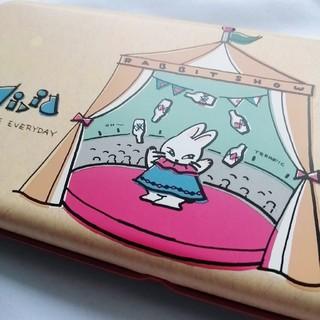 サンスター(SUNSTAR)の【サンスター】レア 昭和レトロ カンペンケース 2段 筆箱 うさぎ 動物(キャラクターグッズ)