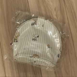 ジェラートピケ(gelato pique)のジェラートピケ スヌーピーストライプ ドリンクケースブルー(その他)
