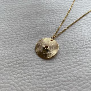 ドゥーズィエムクラス(DEUXIEME CLASSE)の金属アレルギー対応 コイン ネックレス 24KGP 華奢 ロングチェーン(ネックレス)