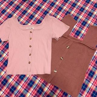 スタイルナンダ(STYLENANDA)のトップス二枚セット(Tシャツ(長袖/七分))