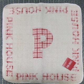 PINK HOUSE - ピンクハウス タオル ハンカチ チェック