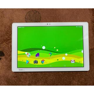 エルジーエレクトロニクス(LG Electronics)のQuaTab PZ LGT32 ホワイト(タブレット)