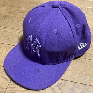 ニューエラー(NEW ERA)の52cm【ニューエラ】パープル(帽子)