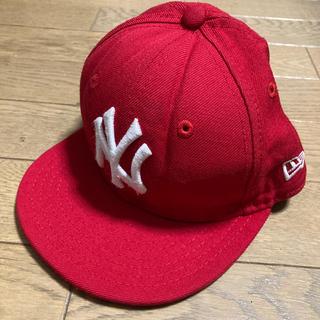 ニューエラー(NEW ERA)の52cm【ニューエラ】レッド(帽子)