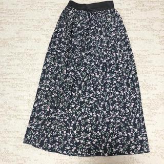 グレイル(GRL)のGRLプリーツスカート(ロングスカート)