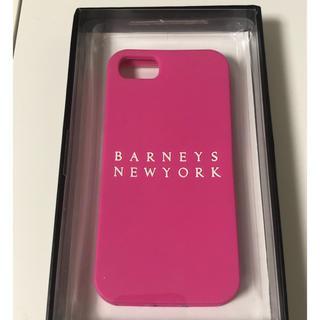 バーニーズニューヨーク(BARNEYS NEW YORK)の【ほぼ未使用】バーニーズニューヨーク iPhoneケース ピンク(iPhoneケース)