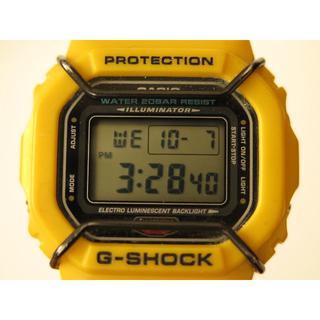 ジーショック(G-SHOCK)の超レアモデル G-Shock DW5600P 希少イエロー(腕時計(デジタル))