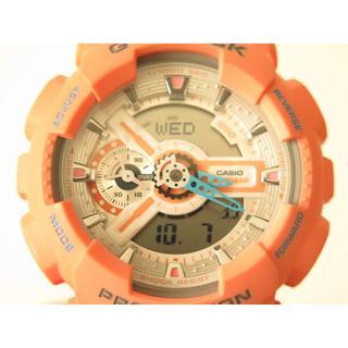 ジーショック(G-SHOCK)の美品レアカラー G-Shock GA110DN ダスティ・ピンク(腕時計(デジタル))