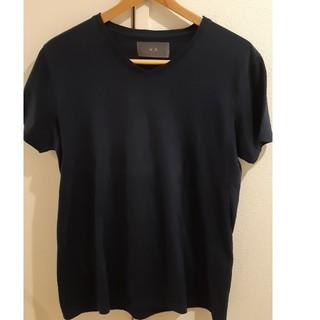 ダブルジェーケー(wjk)のTシャツ トップス wjk Lサイズ ブラック(Tシャツ/カットソー(半袖/袖なし))