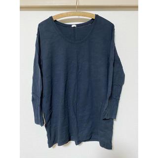 ジーユー(GU)のGU/ジーユー/メンズ七分丈Tシャツ/XL(Tシャツ/カットソー(七分/長袖))