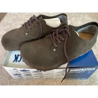 ビルケンシュトック(BIRKENSTOCK)のビルケンシュトック  maine モカ 25センチ(ローファー/革靴)