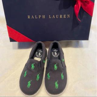 ラルフローレン(Ralph Lauren)の新品未使用 ラルフローレン 13cm 靴 スニーカー スリッポン キッズ ベビー(スニーカー)