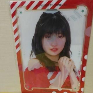 モーニングムスメ(モーニング娘。)のモーニング娘。19佐藤優樹 生写真付ソロビジュアルクリアファイル(クリアファイル)