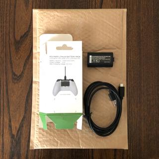 エックスボックス(Xbox)のxbox one用バッテリーパック(互換品)(家庭用ゲーム機本体)