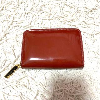 ドゥーズィエムクラス(DEUXIEME CLASSE)のCHEMBUR チェンバー ミニ財布 ミニウォレット パテントレザー(財布)