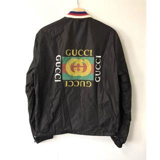 グッチ(Gucci)の【H】473302 グッチ 18SS オールドロゴ ウインドブレーカー 46(ナイロンジャケット)