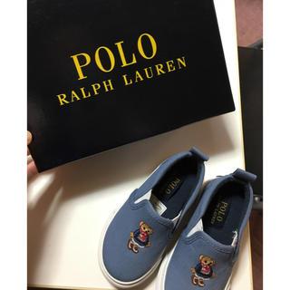 ポロラルフローレン(POLO RALPH LAUREN)のポロベア スニーカー 靴 13センチ(スニーカー)