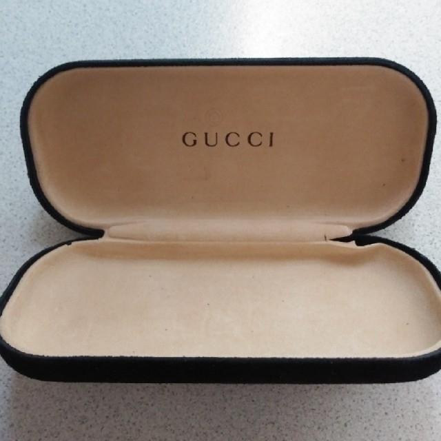 Gucci(グッチ)のGUCCIメガネケース レディースのファッション小物(サングラス/メガネ)の商品写真