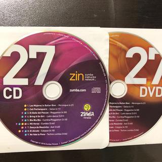 ズンバ(Zumba)のズンバ ZIN27  CD.DVD (スポーツ/フィットネス)