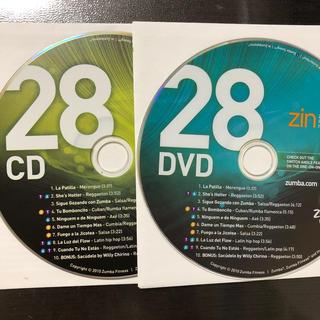 ズンバ(Zumba)のズンバ ZIN28  CD.DVD(スポーツ/フィットネス)