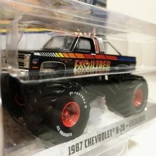 シボレー(Chevrolet)のGreenLightグリーンライト/'87 Chevyシボレー K-20 1/6(ミニカー)