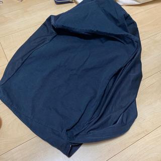 MUJI (無印良品) - 体にフィットするソファ 小  カバー たぶん紺色